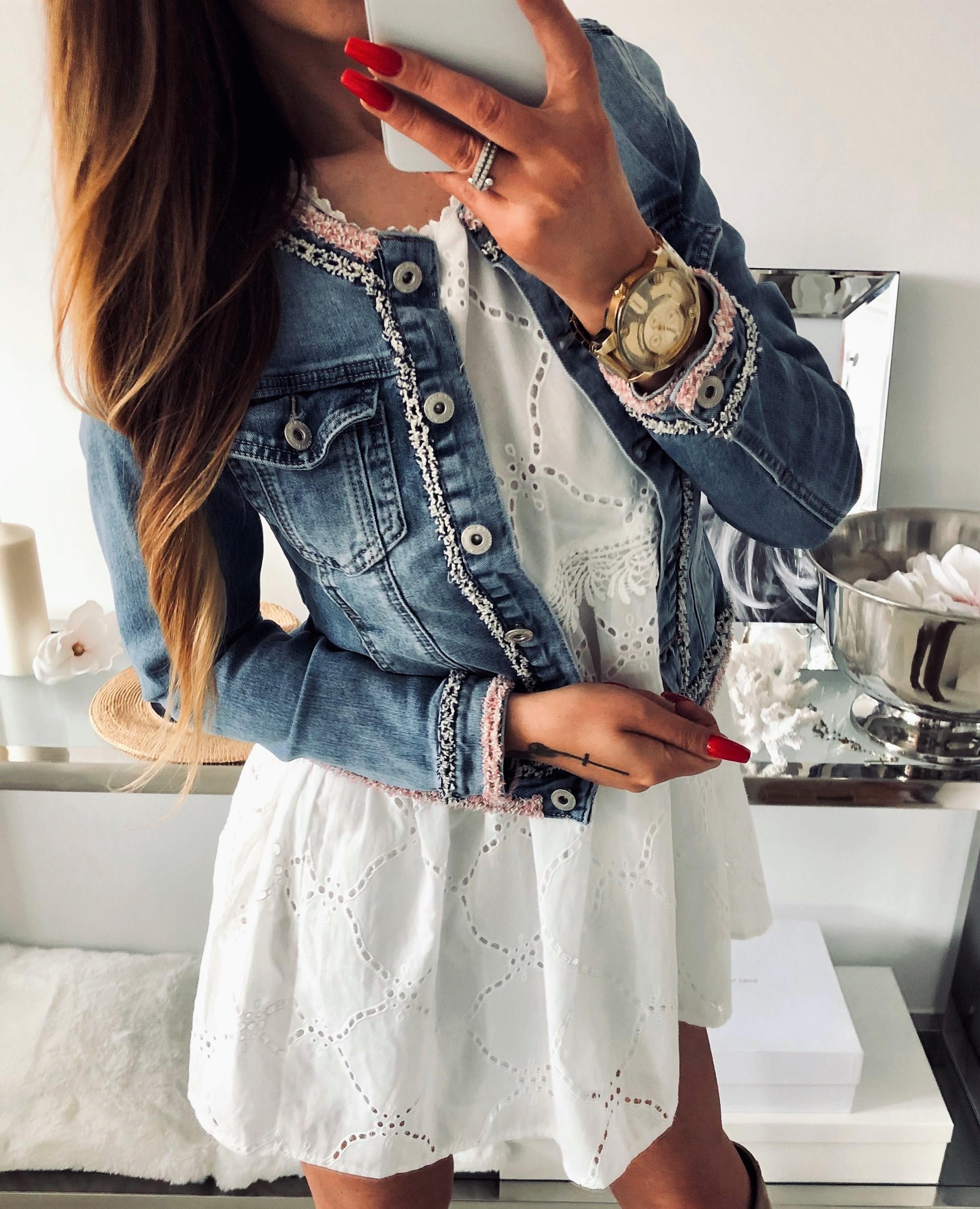 ea86e1653ee38 Kurtka RICHELLE Jeans – Sklep Nina-Boutique